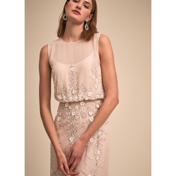 d6d43bd443 NWT BHLDN Devon Bridesmaid or MOB Beaded Floral